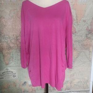 Soft feminine pink tunic